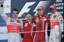 Podium Australien 2007