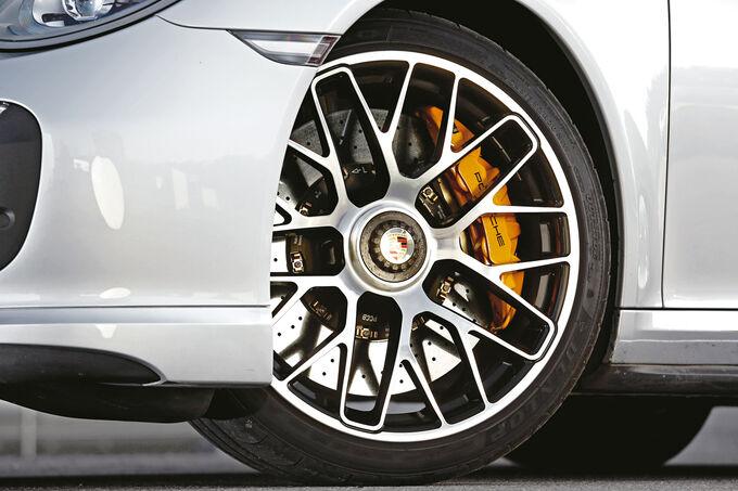 Porsche 911 Turbo S Cabriolet, Wheels, Rims, Brakes
