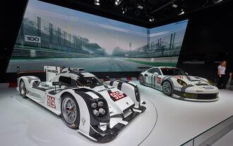 Porsche 919 Hybrid Porsche 911 RSR - Autosalon Genf 2014
