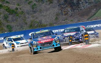 Rallycross, Rennszene