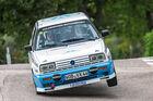 Rallyefahren im VW Golf G60