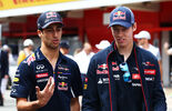 Ricciardo  Kvyat - Formel 1 2014