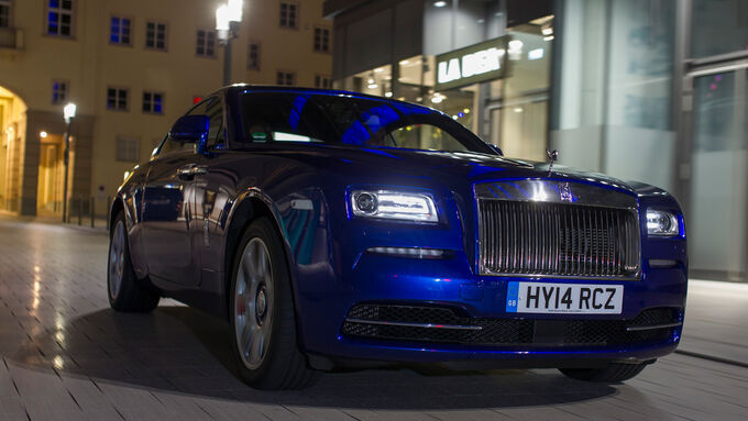 Rolls-Royce Wraith, Front view