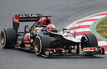 Romain Grosjean, Lotus, Formel 1-Test, Barcelona, 21. Februar 2013