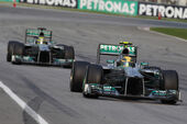 Rosberg Hamilton GP Malaysia 2013