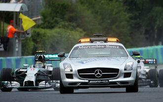 Safety-Car - Formel 1 - GP Ungarn - 27. Juli 2014