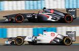 Sauber C32 Formel 1 2013 Technik