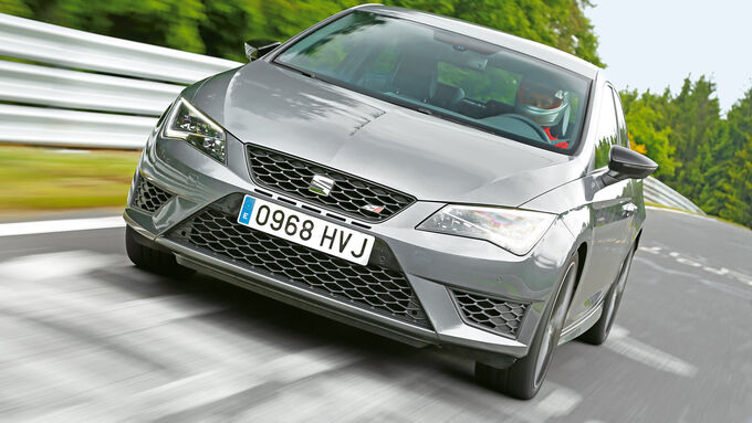 Seat Leon Cupra 280, Front view