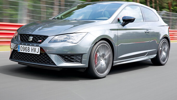 seat leon sc cupra 280 performance echter racer mit pr zision auto motor und sport. Black Bedroom Furniture Sets. Home Design Ideas