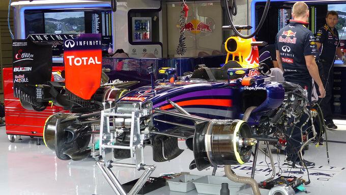 Motorenalarm bei Vettel