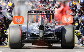Aufatmen bei Sebastian Vettel
