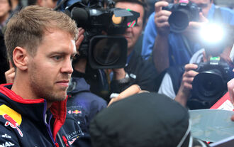 Sebastian Vettel - GP China 2014