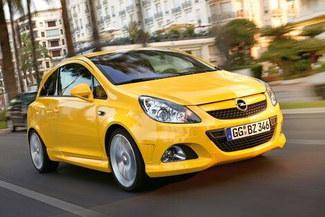 Serienfahrzeuge Kleinwagen - Opel Corsa 1.6 Turbo ECOTEC