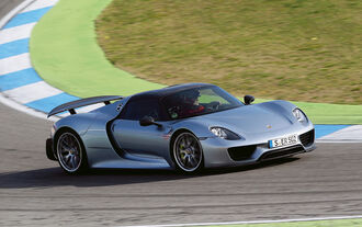 Supersportler, Porsche 918 Spyder