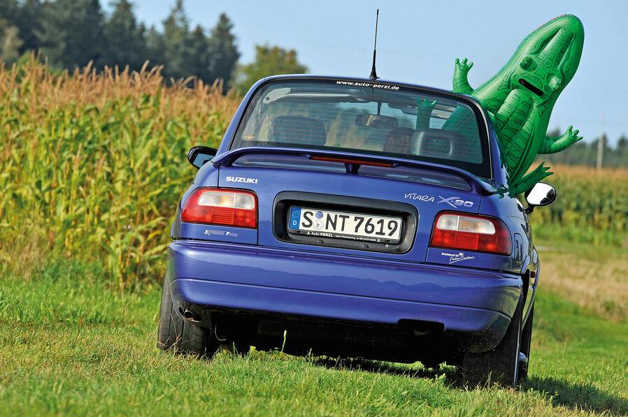 Suzuki vitara x90 fahrbericht zweisitzer mit langen beinen auto