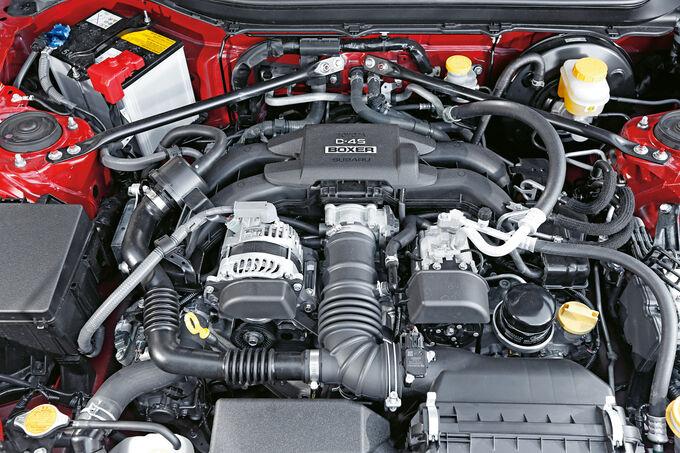 Toyota GT86 Pure, Motor