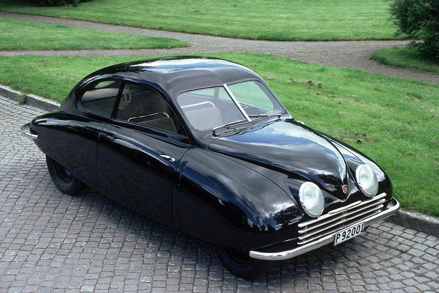 1947 Saab Ursaab. Ur-Saab von 1947