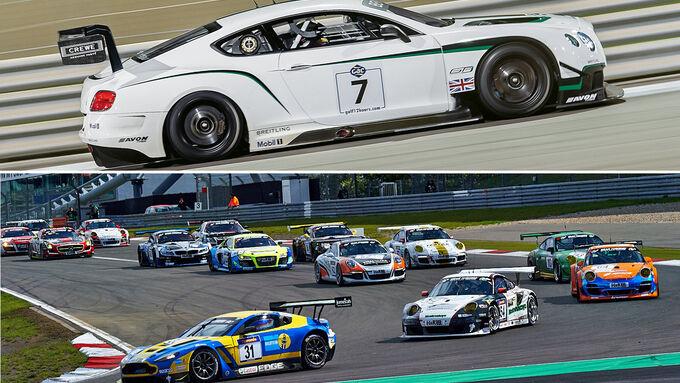 VLN, Aufmacher, 9. Lauf 2014, Bentley Continental GT3