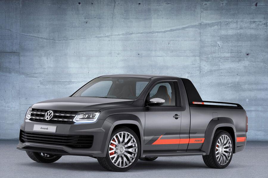 Концептуальный пикап Volkswagen Amarok Power 2014 года