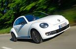 VW Beetle 2.0 TSI DSG, Frontansicht, Überlandfahrt