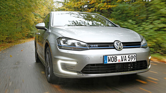 VW Golf GTE, Front view