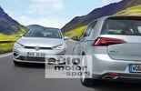 VW Golf VIII, Frontansicht, Heck