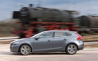 Volvo V40 D3 Summum, Seitenansicht