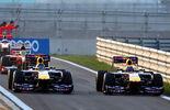 Webber  Vettel - GP Korea 2011